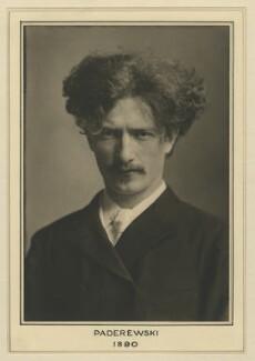 Ignace Jan Paderewski, by Elliott & Fry - NPG x127469