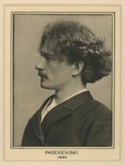 Ignace Jan Paderewski, by Elliott & Fry - NPG x127470