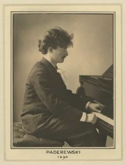 Ignace Jan Paderewski, by Elliott & Fry - NPG x127471