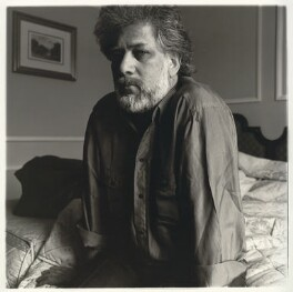 Michael Ondaatje, by Neil Drabble - NPG x127396