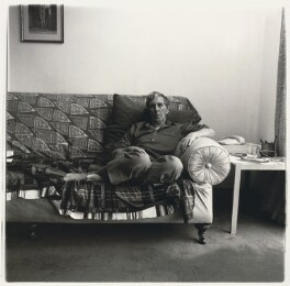 Sir Michael Kemp Tippett, by Neil Drabble, 1992 - NPG x127397 - © Neil Drabble
