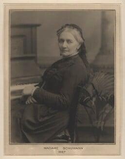 Clara Schumann, by Clarence Edmund Fry, for  Elliott & Fry, 1887 - NPG x127480 - © National Portrait Gallery, London