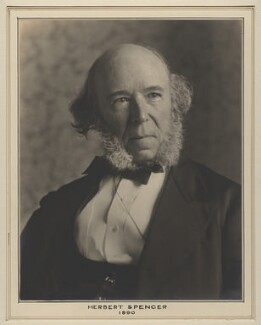 Herbert Spencer, by Elliott & Fry - NPG x127482