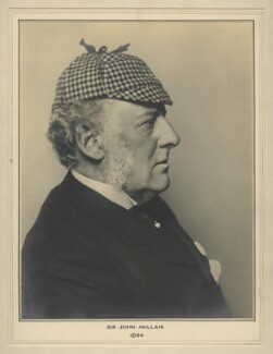 Sir John Everett Millais, 1st Bt, by Alfred James Philpott (Phillpot), for  Elliott & Fry - NPG x127464