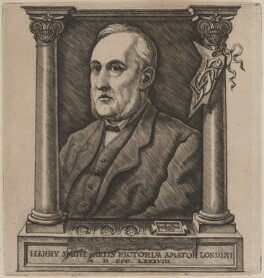Harry Smith, by Charles William Sherborn - NPG D21189