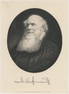 Jabez Inwards, by Charles William Sherborn - NPG D21191
