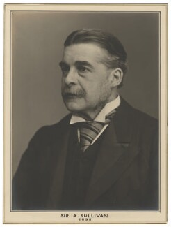 Sir Arthur Seymour Sullivan, by Elliott & Fry, 1898 - NPG x127485 - © National Portrait Gallery, London