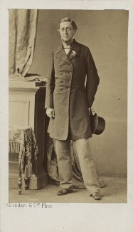 Sidney Herbert, 1st Baron Herbert of Lea, by Disdéri, 1860s - NPG Ax16404 - © National Portrait Gallery, London