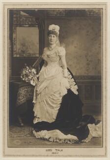 Mrs Talk, by Elliott & Fry, 1885 - NPG x127486 - © National Portrait Gallery, London