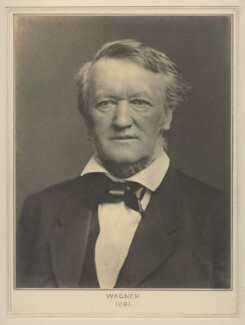 Richard Wagner, by Chevalier Luigi Bernieri, for  Elliott & Fry - NPG x127492