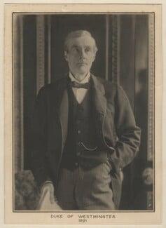 Hugh Lupus Grosvenor, 1st Duke of Westminster, by Elliott & Fry - NPG x127494