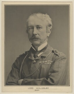 Garnet Joseph Wolseley, 1st Viscount Wolseley, by Francis Henry Hart, for  Elliott & Fry - NPG x127495