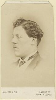 Charles Augustus Howell, by Elliott & Fry - NPG Ax16415