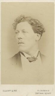 Charles Augustus Howell, by Elliott & Fry - NPG Ax16416