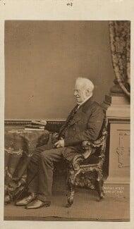 Henry Petty-Fitzmaurice, 3rd Marquess of Lansdowne, by John Jabez Edwin Mayall, 1 June 1861 - NPG Ax16420 - © National Portrait Gallery, London