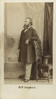 Sir Austen Henry Layard, by Caldesi, Blanford & Co - NPG Ax16425