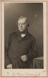 John Winston Spencer Churchill, 7th Duke of Marlborough, by Nadar (Gaspard Félix Tournachon), early 1860s - NPG Ax29657 - © National Portrait Gallery, London