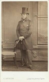 John Winston Spencer Churchill, 7th Duke of Marlborough, by A.J. (Arthur James) Melhuish, mid 1860s - NPG Ax29659 - © National Portrait Gallery, London