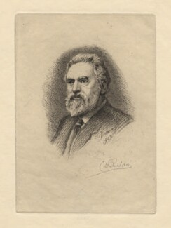 Charles William Sherborn, by Charles William Sherborn, 1903 - NPG D21213 - © National Portrait Gallery, London