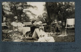 Julian Morrell and others at Garsington, by Lady Ottoline Morrell - NPG Ax142550
