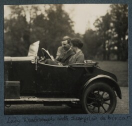 Siegfried Sassoon; Ethel Anne Priscilla ('Ettie') Grenfell (née Fane), Lady Desborough, by Lady Ottoline Morrell - NPG Ax142554