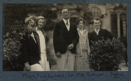 Garsington visitors, by Lady Ottoline Morrell - NPG Ax142565