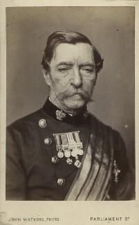 Robert Cornelis Napier, 1st Baron Napier of Magdala, by John Watkins - NPG Ax11983