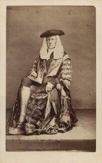(John) Evelyn Denison, 1st Viscount Ossington, by John & Charles Watkins, or by  John Watkins, circa 1863 - NPG Ax29675 - © National Portrait Gallery, London