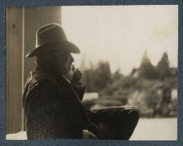 Robert Bridges, by Lady Ottoline Morrell - NPG Ax142576