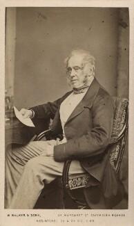Henry John Temple, 3rd Viscount Palmerston, by Samuel Alexander Walker, for  William Walker & Sons - NPG Ax29682