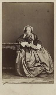 Susan North, Baroness North, by (George) Herbert Watkins, 1860s - NPG Ax29673 - © National Portrait Gallery, London