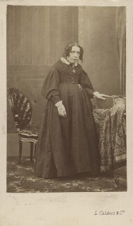 Susan North, Baroness North, by Leonida Caldesi, early-mid 1860s - NPG Ax29674 - © National Portrait Gallery, London