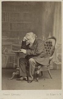 Sir Anthony Panizzi, by Ernest Edwards, circa 1864 - NPG Ax29949 - © National Portrait Gallery, London