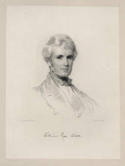 William Page Wood, Baron Hatherley, by William Holl Jr, after  George Richmond - NPG D20684