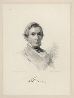 Algernon George Percy, 6th Duke of Northumberland, by William Holl Jr, after  George Richmond - NPG D20687