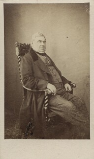 Sir Anthony Panizzi, by Caldesi, Blanford & Co, early 1860s - NPG Ax29950 - © National Portrait Gallery, London