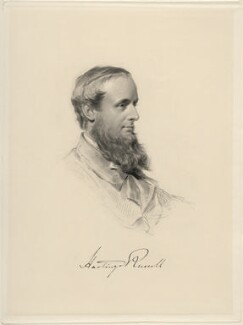 Francis Charles Hastings Russell, 9th Duke of Bedford, by William Holl Jr, after  George Richmond - NPG D20690