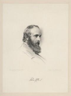 Robert Gascoyne-Cecil, 3rd Marquess of Salisbury, by William Holl Jr, after  George Richmond - NPG D20693