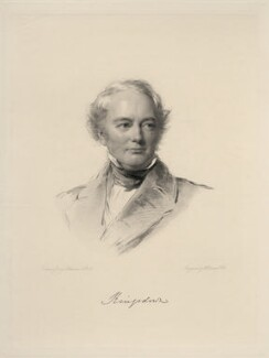 Thomas Pemberton Leigh, Baron Kingsdown, by William Holl Jr, after  George Richmond - NPG D20696