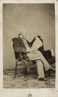 Sir George Scharf, by Unknown photographer - NPG Ax29976