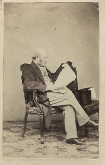 Sir George Scharf, by Unknown photographer - NPG Ax29977