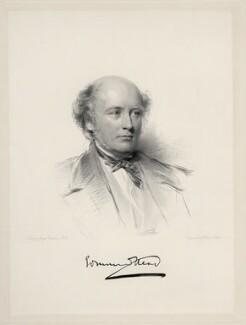 Sir Edmund Walker Head, 8th Bt, by William Holl Jr, after  George Richmond - NPG D20698