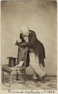 Sir George Scharf, by Unknown photographer - NPG Ax29981