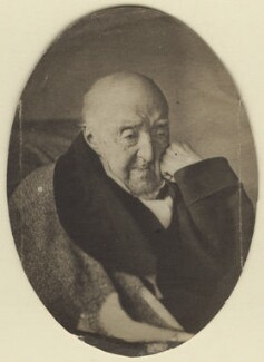 Samuel Rogers, by Mr Paine, early-mid 1850s - NPG Ax29963 - © National Portrait Gallery, London