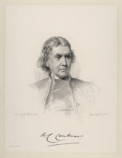 Archibald Campbell Tait, by William Holl Jr, after  George Richmond - NPG D20702