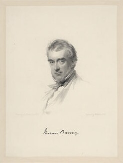 Thomas Baring, by William Holl Jr, after  George Richmond - NPG D20704