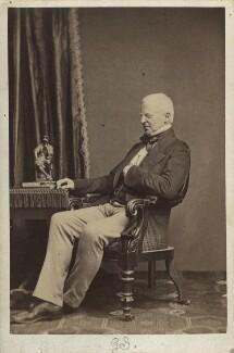 Robert Lowe, 1st Viscount Sherbrooke, by John & Charles Watkins, or by  John Watkins - NPG Ax30348