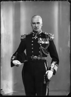 Sir Rowland Christopher Jerram, by Bassano Ltd - NPG x127572