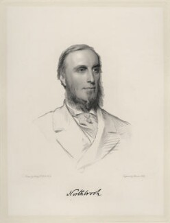 Thomas George Baring, 1st Earl of Northbrook, by Charles Holl, after  Henry Tanworth Wells - NPG D20710