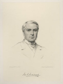 Edward Gibson, 1st Baron Ashbourne, by Joseph Brown, after  Henry Tanworth Wells - NPG D20711
